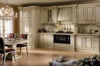 Кухни в классическом стиле: лучшие фото