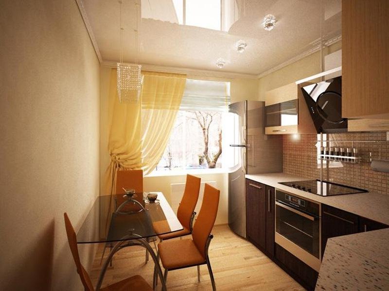 Дизайн кухни 8 кв метрах фото.
