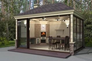 Летняя кухня: рекомендации, современные проекты и фото