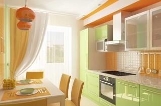 Дизайн кухни 9 квадратных метров: советы, фото и видео