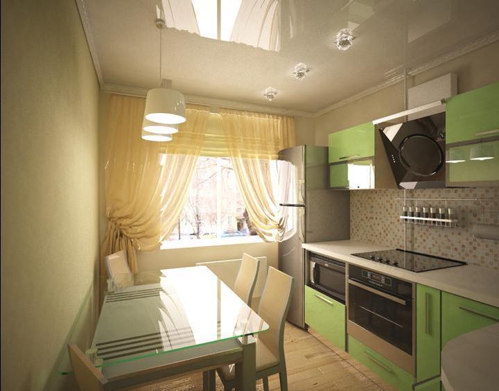 интерьер маленькой кухни фото 7 кв метров фото