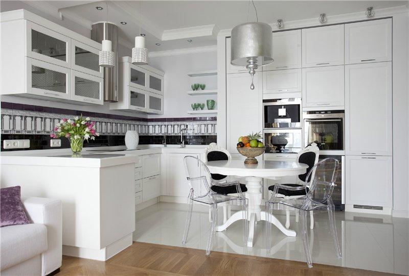 кухня фото дизайн белая