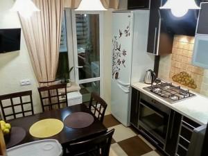 Планировка кухни 8 м2