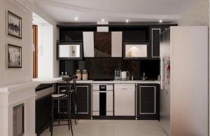 Советы по дизайну кухни в хрущевке