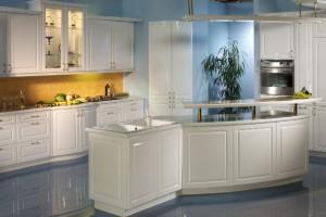 Стиль для белой кухни