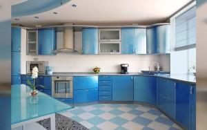 Совместимость цветов на кухне
