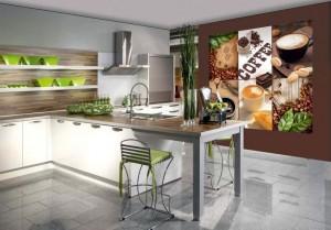 Выбор фотообоев для кухни