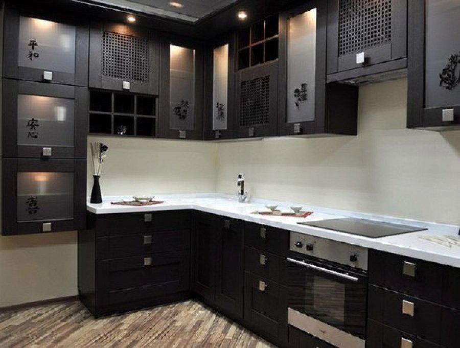 Современные кухни угловые фото
