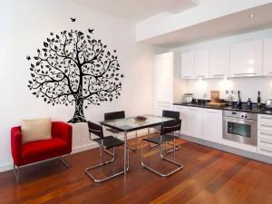 Украшение кухонных стен