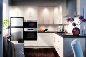 Советы по дизайну черно-белой кухни