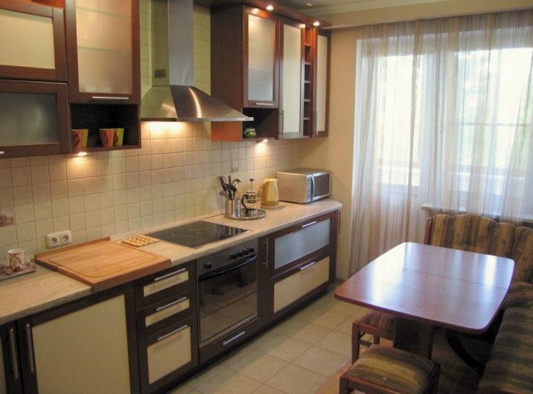 Фото дизайн кухни в 9 метров