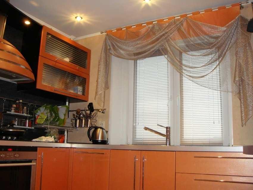 Шторы на кухню фото в маленькую кухню своими руками