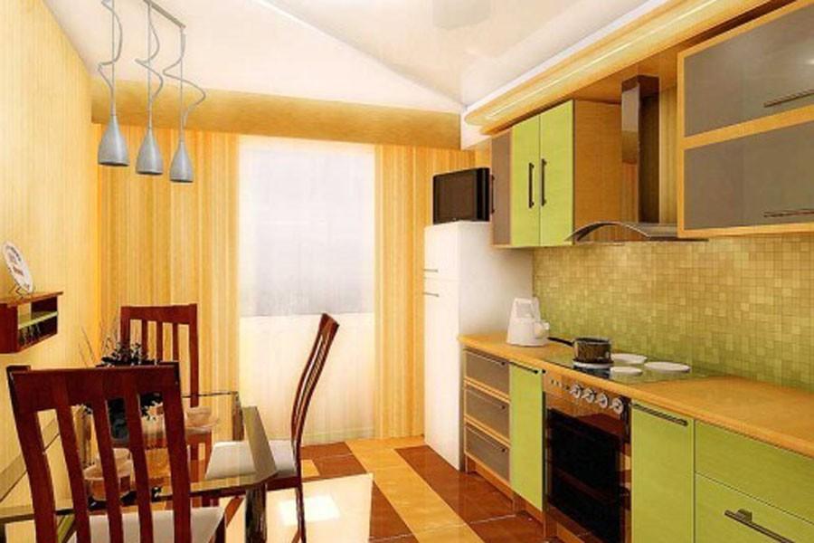 дизайн кухни 9 кв м фото новинки 2015 с балконом