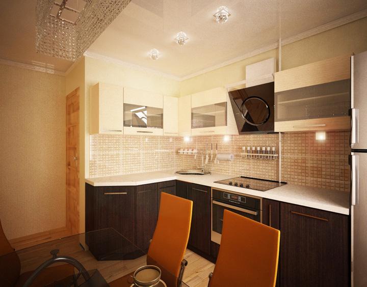 фото дизайн кухонь 8 кв.м