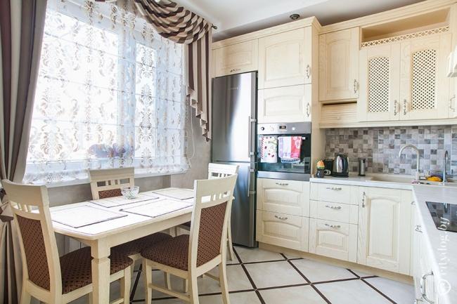 Красивые кухни на 9 кв метрах фото