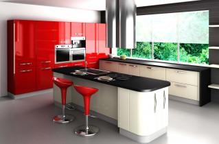Кухня в стиле хай-тек с фото-примерами