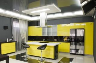 Кухня в желтом цвете на фото-примерах – варианты дизайнерских решений