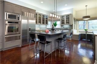 Красивые кухни в современных домах