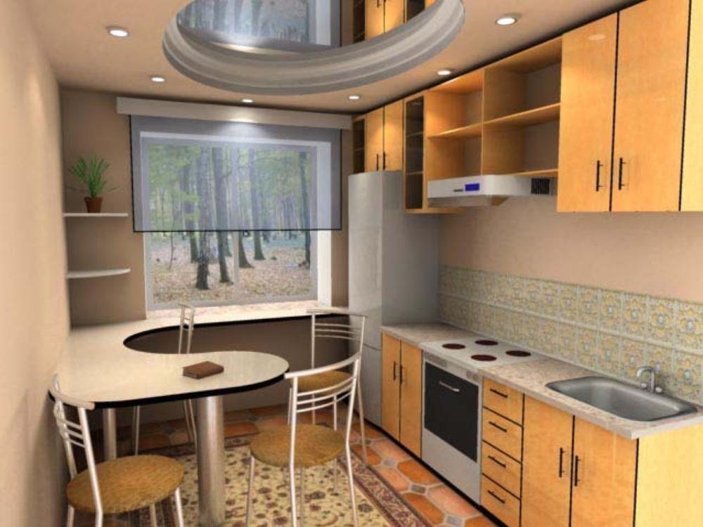 Дизайн маленькой кухни 6 кв.м фото 2015 современные идеи