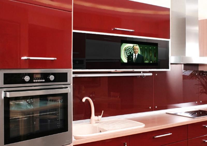 Какой телевизор купить на кухню на стену