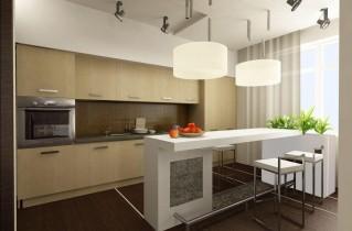 Подобрать дизайн кухни 3 на 3 метра – фото и рекомендации