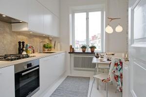 Планировка кухни 7 кв. м