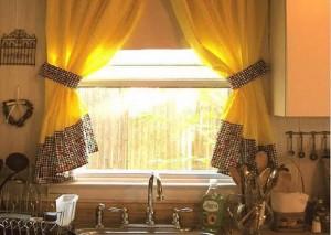 Выбор ткани для занавесок
