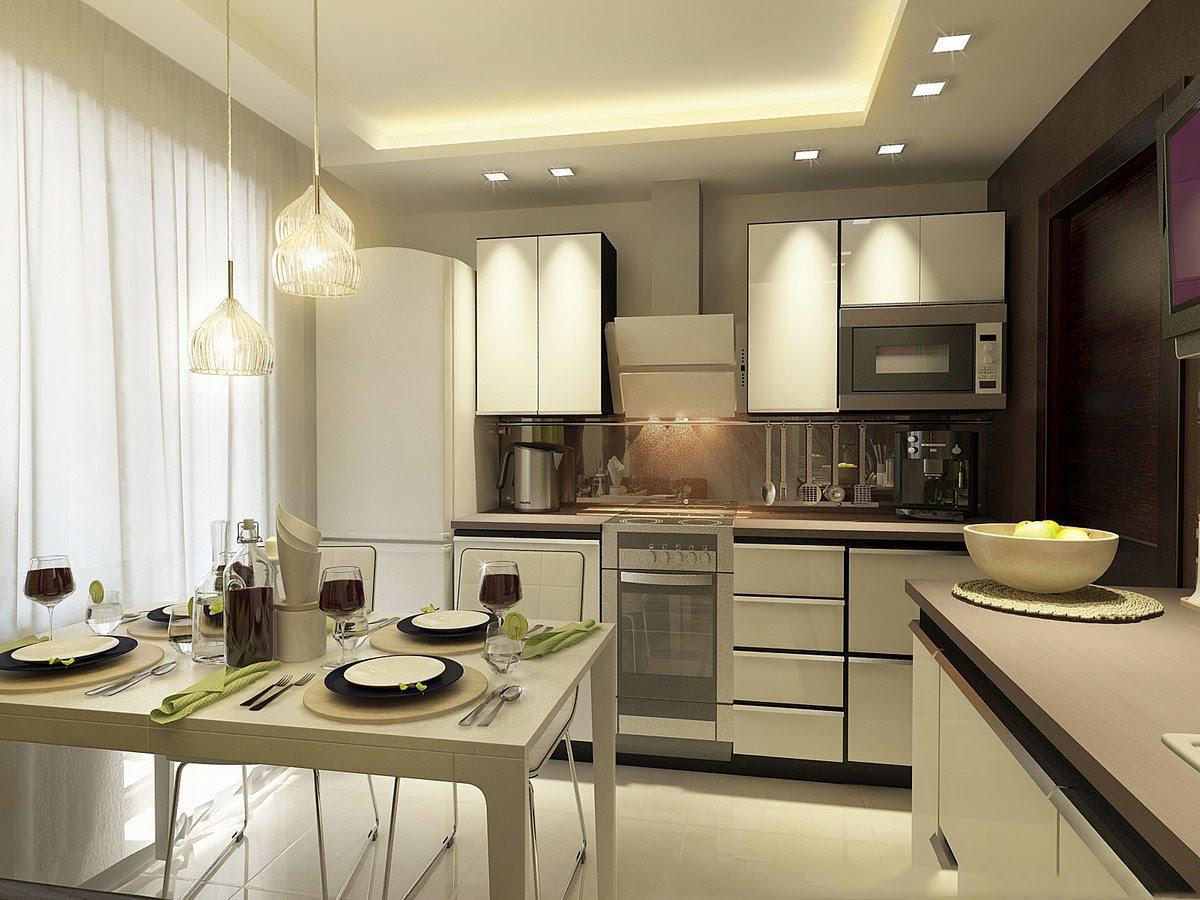 практичный и красивый дизайн кухни 3 на 3 метра фото и