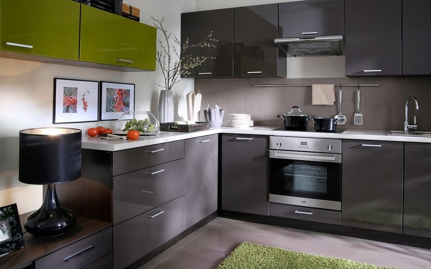 Картинки по запросу кухня серая пластика