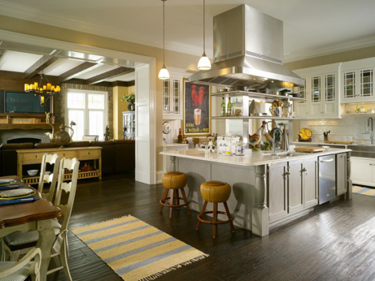 for New england kitchen designs
