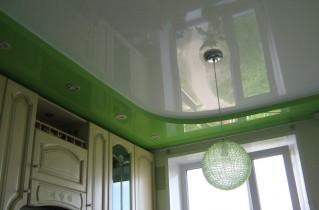 Потолок на кухне и предлагаемые варианты