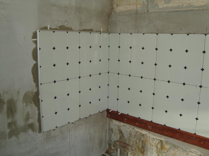 Фартук на кухню из плитки пошаговая