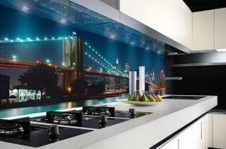 Стеновые панели с фотопечатью для кухни — виды, преимущества и монтаж