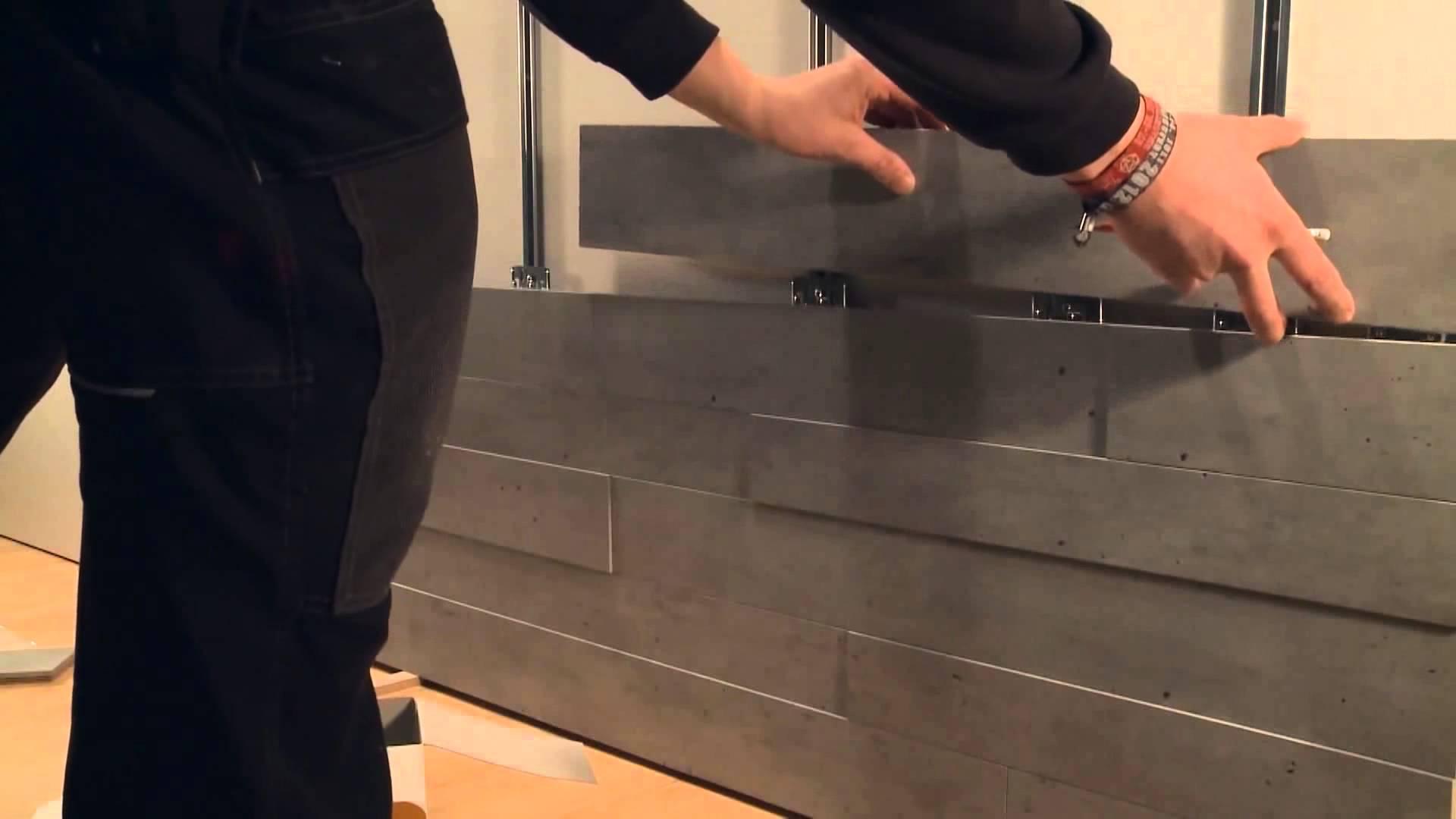 Установка панели мдф стеновые