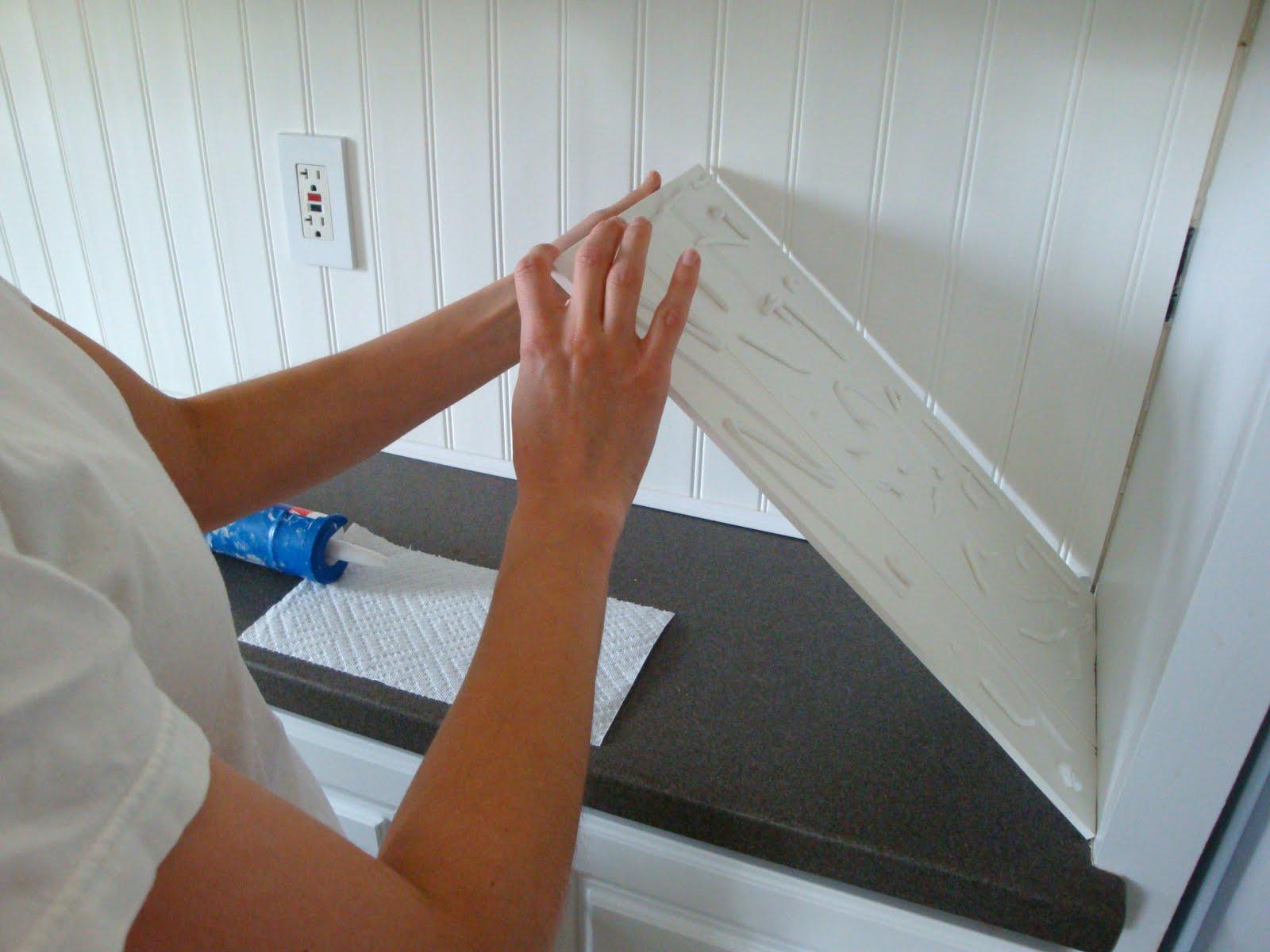 Фартук для кухни из пвх панелей своими руками