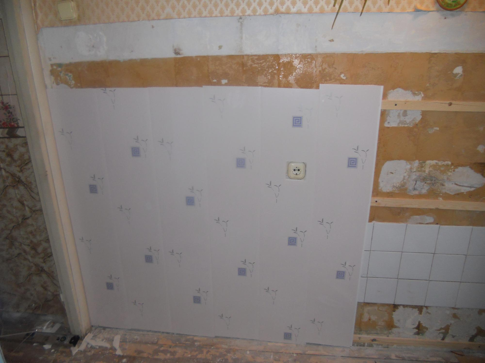 Панели пвх отделка стен своими руками