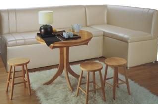 Угловой спальный диван для кухни