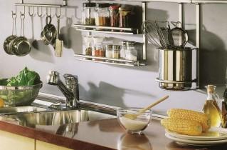 Рейлинг на кухне полностью оправдан