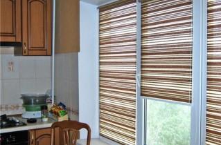 Рулонные шторы – лучшее решение для кухни
