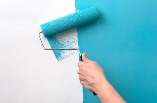 Покраска кухонных стен – идеальное решение