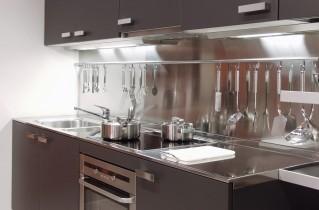 Металлические детали на кухне