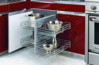 Кухонная мебель делает интерьер законченным