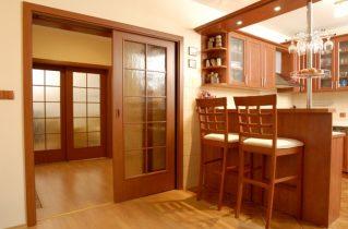 Как подобрать двери для кухни?