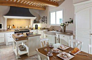 Как должна выглядеть кухня в стиле Прованс?