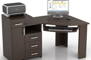 Преимущества углового компьютерного стола в MebShop