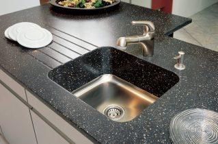 Виды столешниц из искусственного камня для кухни