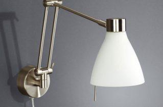 Как выбрать настенный светильник?