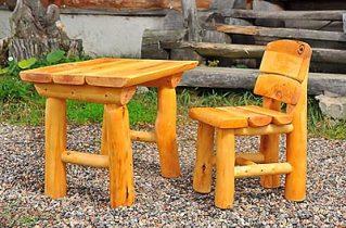 Меблі, виготовлені з вільхи