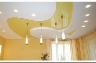 Натяжные потолки: основные преимущества