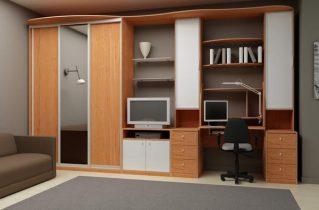 Меблі, вироблені з ДСП